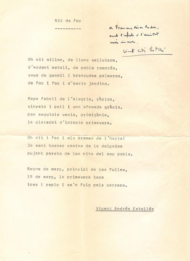 1976 poema de estelles