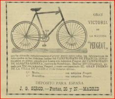 1896.03 DV56 anuncio bici peugeot
